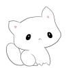 #01 Kitten Plush - White