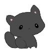 #02 Kitten Plush - Black