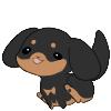 #03 Puppy Plush - Rottie